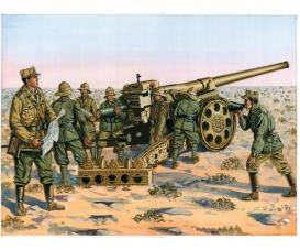 1:72 Italienische Kanone 149/40, Kolonne