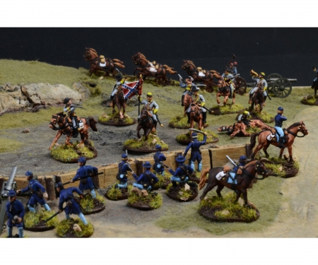 1:72 American Civil War:Farmhouse battle