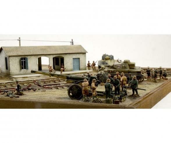 1:72 WWII: El Alamein Battle Railway St.