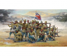 1:72 British Infantry and Sepoys