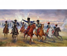 1:72 British 11th Hussars (Crimean war)