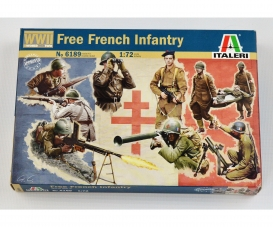 1:72 WWII French Infantry