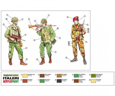 1:72 Fig. NATO Truppen