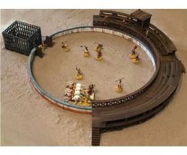 1:72 Gladiatorenkampf m. Arena