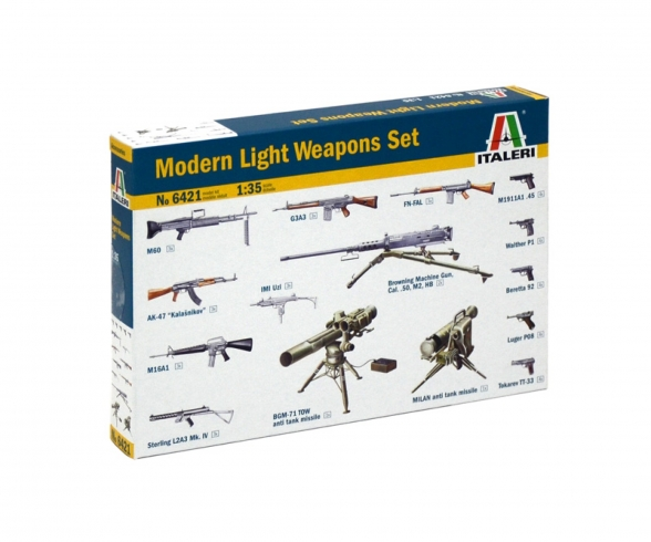 1:35 Modern Light Weapon Set