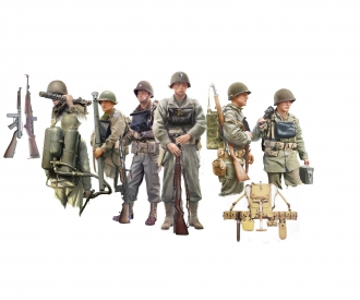 1:35 Figuren-Set U.S. Infanterie an Bord