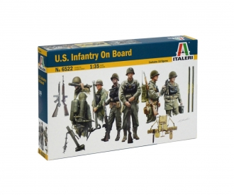1:35 Figure-Set U.S. Infantry on Board