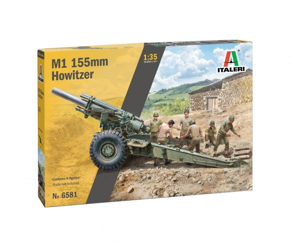 1:35 M1 155mm Howitzer with crew