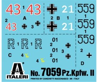 1:72 Pz. Kpfw. II Ausf. F