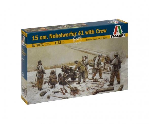 1:72 15cm Nebelwerfer 41 w/crew