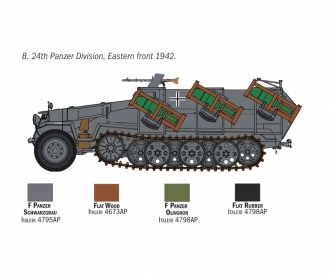 "1:72 Sd.Kfz. 251/1 ""Stuka Zu Fuss"""