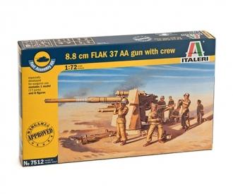 1:72 FLAK 37 AA Gun, 8.8cm (1 fast ass.)