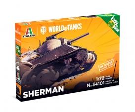 1:72 Sherman WoT Fast Assembly Kit