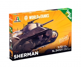 1:72 Sherman WoT Fast Assembly Kit