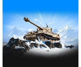 1:72 Pz.Kpfw.VI Tiger I WoT Fast ass.kit