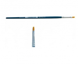 0 Brush Synthetic Flat - SINGLE PACK