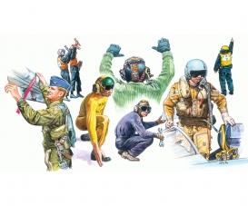 1:72 NATO Pilots and Ground Crew