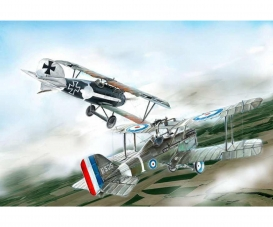 1:72 S.E.5a and Albatros D.III (WWI)