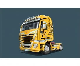 1:24 IVECO Stralis Yellow Devil