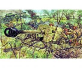 1:72 WWII dt. Panzerabwehrkanone Pak 40