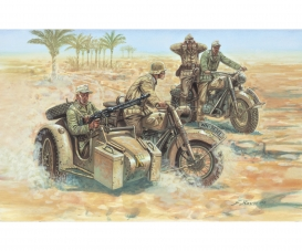 1:72 WWII German Motorcycles