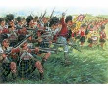 1:72 Fig.-Set Scottosh Infantry