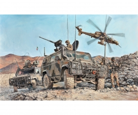 1:35 4x4 IVECO Lince Military Vehicle