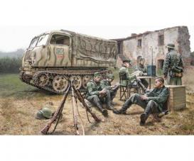1:35 Steyr RSO/01 w/Germ.soldiers+access