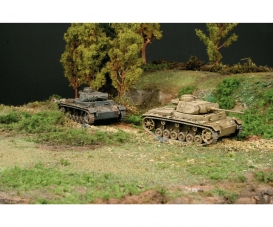 1:72 PzKpfw. III Ausf. J Fast Ass. Kit