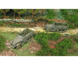 1:72 M3A1 Half Truck  2 easykit