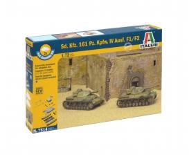 1:72 SdKfz.161 PzKpfw. IV F1 Fast As.Kit