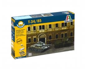 1:72 Rus. Panzer T-34/85 Fast Assm. Kit