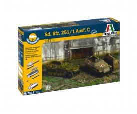 1:72 SD.Kfz.251/1 Ausf. C Fast Assm. Kit