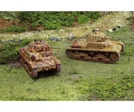 1:72 Panzer M13/40, 2 pcs