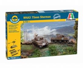 1:72 Sherman M4A3 75mm, 2 pcs