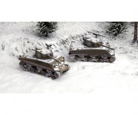 1:72 M4A3 76mm (Fast Ass. Kit) 2 Modelle