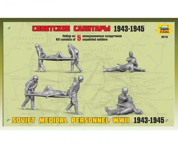 1:35 Soviet Medical tropos WWII