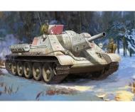 1:35 SU-122 Sowjet. Selbstfahrhaubitze