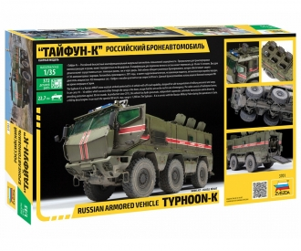"1:35 Russian Armored Vehicle ""Typhoon-K"""