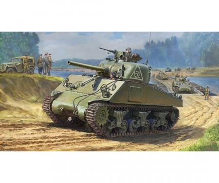 1:35 M4A2 Sherman (75mm) Medium US WWII