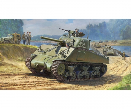 1:35 M4A2 Sherman (75mm) Medium US WWII
