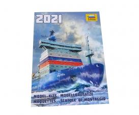 ZVEZDA Plastik-Katalog 2021 EN