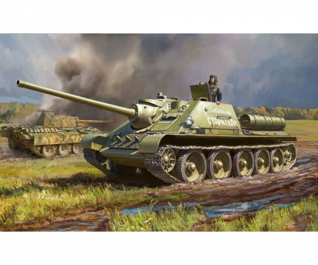 1:72 SU-85 Sowjet. Selbstfahrhaubitze