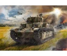 1:72 T-28 Soviet heavy tank WWII