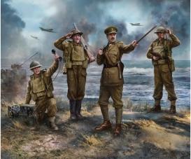 1:72 British headquarter WWII