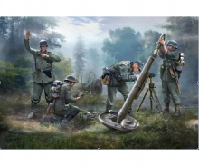 1:72 German 120mm Mortar w/crew Granatw.