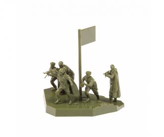 1:72 Soviet machine gun squad WWII