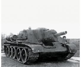 1:100 Soviet Self Propelled Gun SU-122