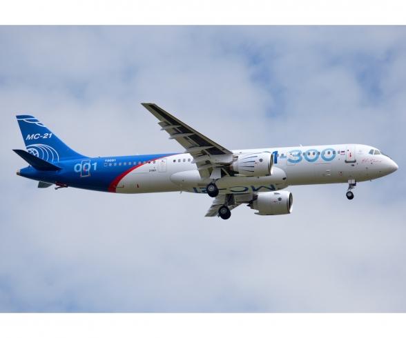 Civil Airliner МC-21-300 Irkut New molds 1:144 Zvezda #7033