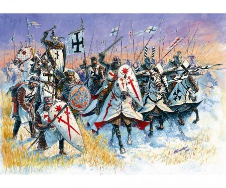 1:72 Livonian Knights XIII A.D./Teutonic